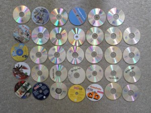 CD-ROMs everywhere :D