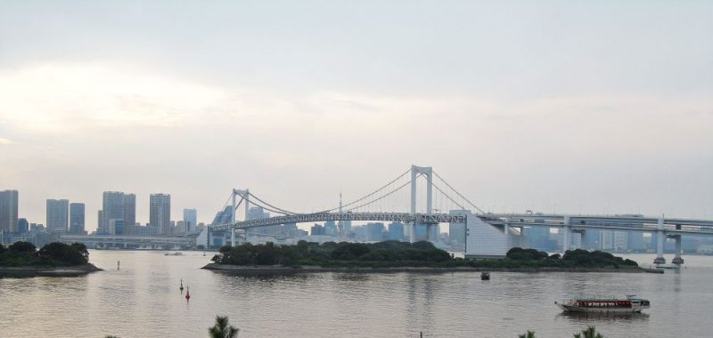 Comiket und Rundgang in Odaiba