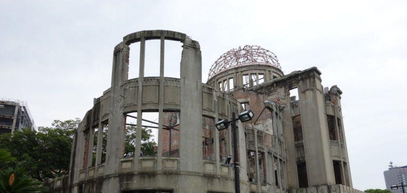 Hiroshima Castle und A-Bomb Dome