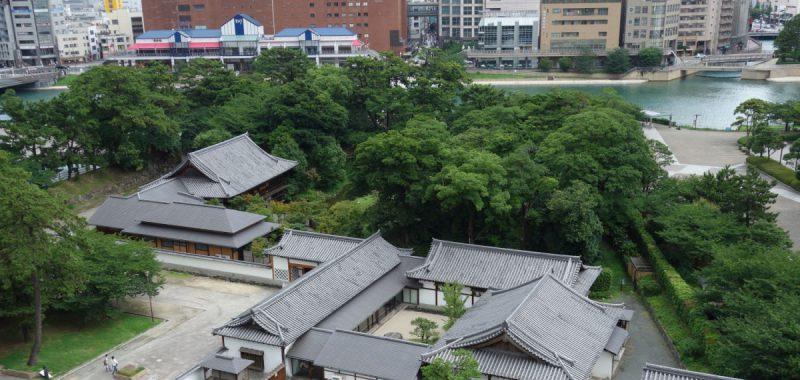 Kokura Castle und der erste Shopping-Ausflug