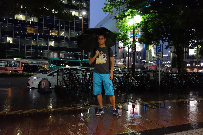 Sven in the rain :D