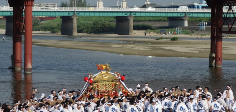 Sumiyoshi Matsuri in Ôsaka – Tag 2 und Capsule Hotel