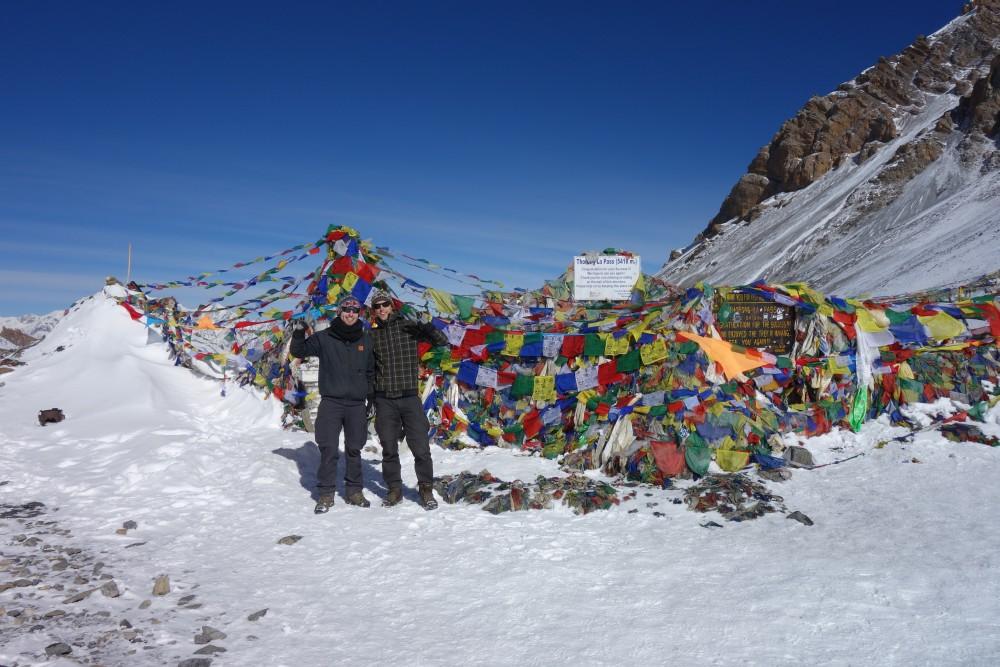 Thorong La Pass - 5416 m