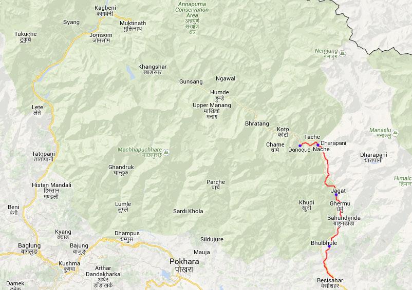 Tag 6: Dharapani - Danaque