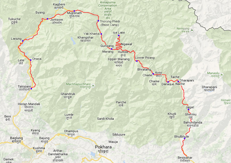 Tag 17: Ghasa - Tatopani