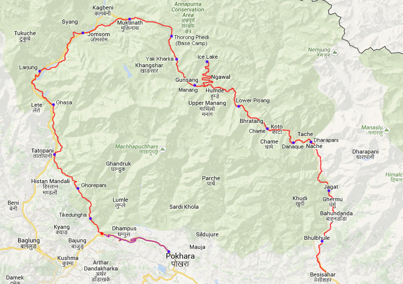 Tag 20: Tikedungha – Pokhara