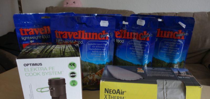 Packliste und weitere Ausrüstung
