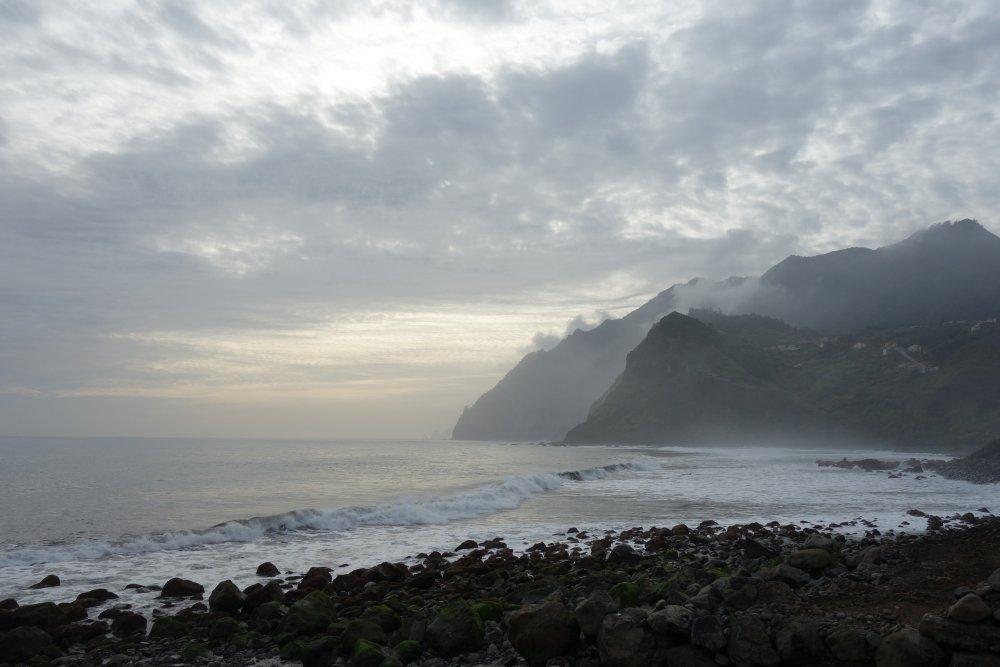 Küste von Porto da Cruz