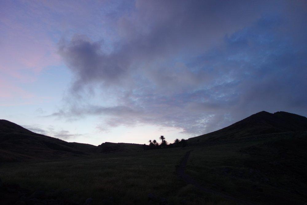 Sonnenaufgang auf Ponta de São Lourenço