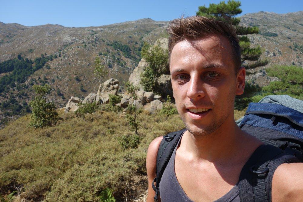 Auf dem Weg zur Refuge d'Asinao