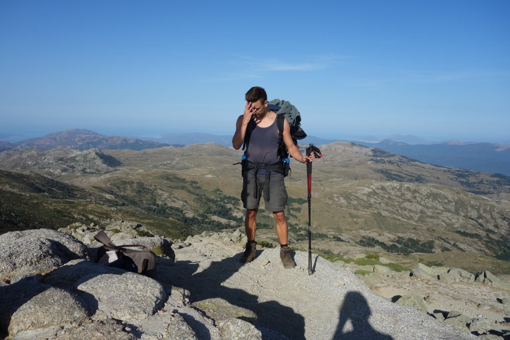 Auf dem Monte Incudine