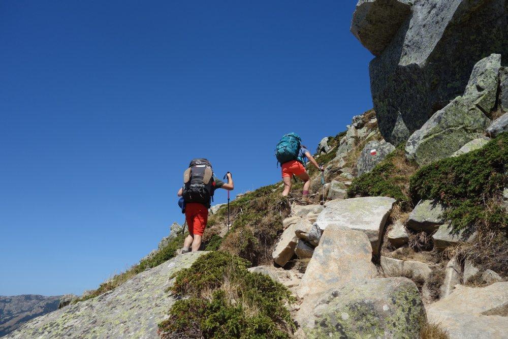 Weg in Richtung Punta della Capella
