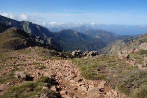 Auf dem Weg zur Refuge de Ciuttulu di i Mori