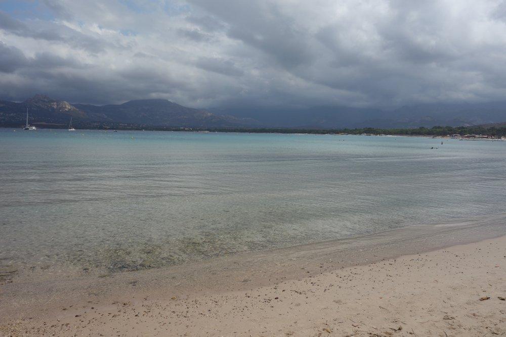 Traumhafter Strand in Calvi