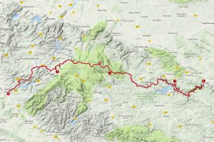 Harzer-Hexen-Stieg Etappen
