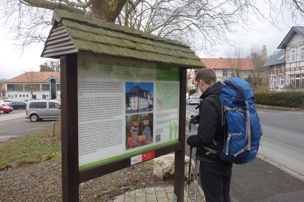 Harzer-Hexen-Stieg Startpunkt in Osterode