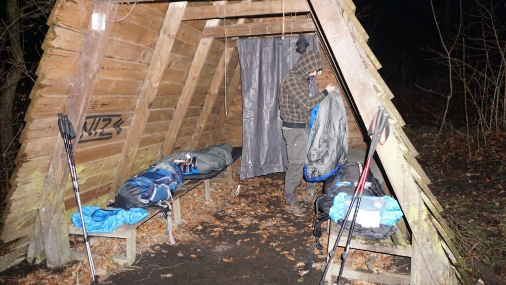 Nachtlager zwischen Wendefurth und Altenbrak