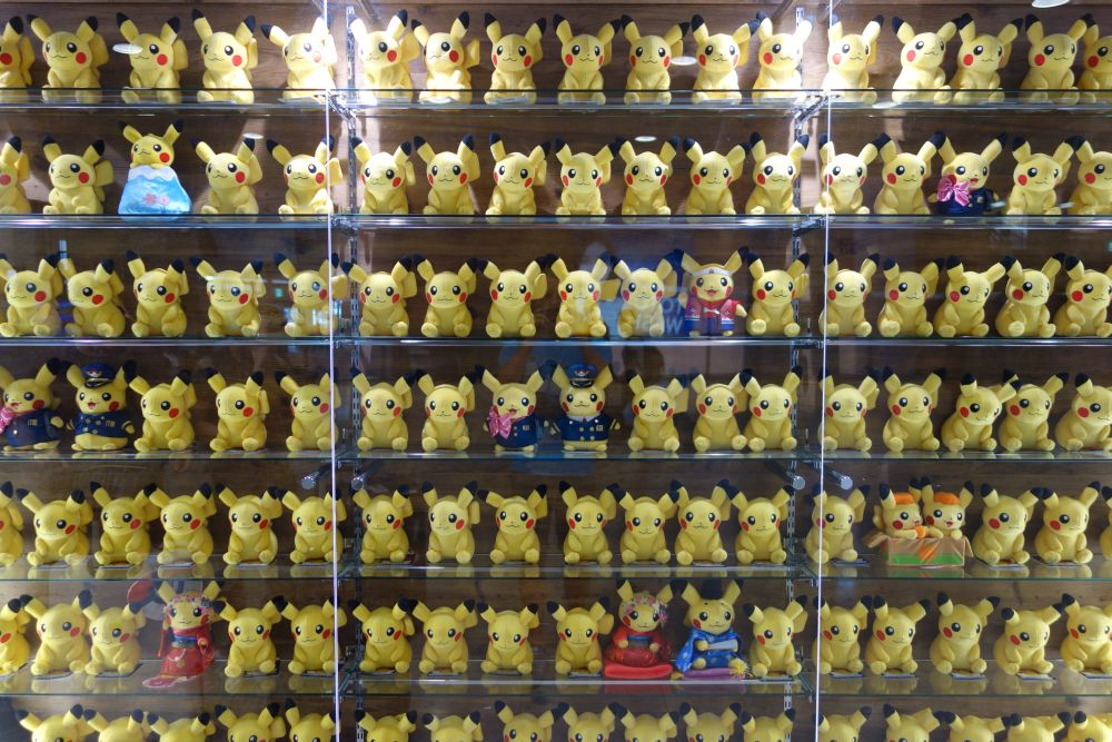 Wall of Pikachus