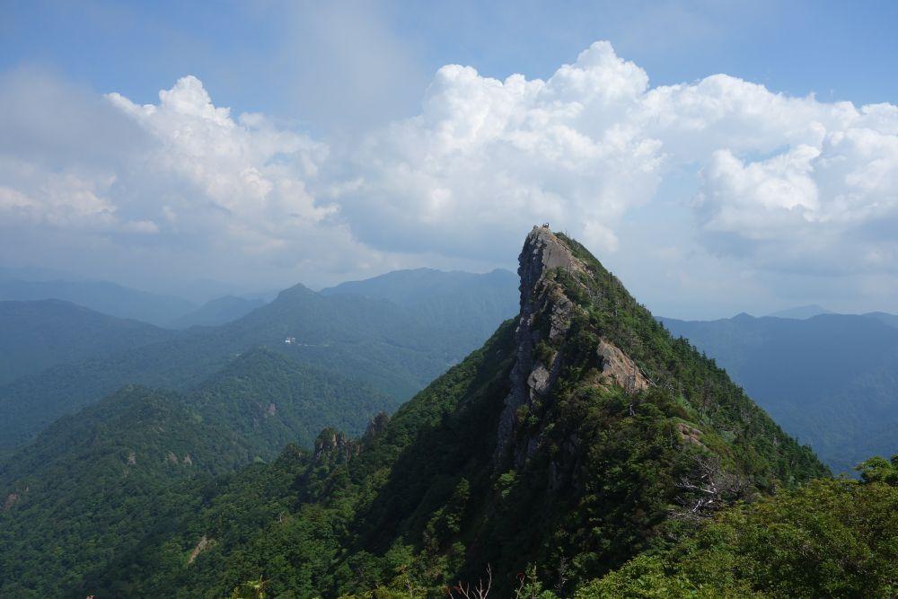 Bergspitze Tengu-dake