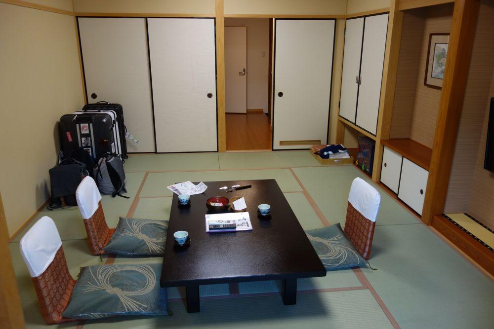 Riesiges japanisches Hotelzimmer