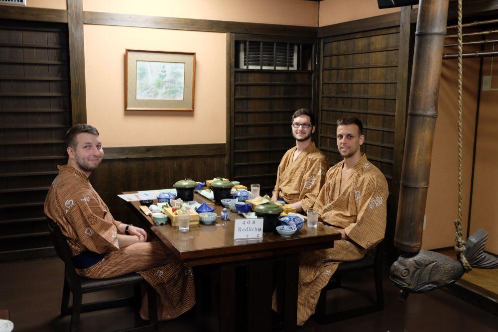 Japanisches Abendbrot