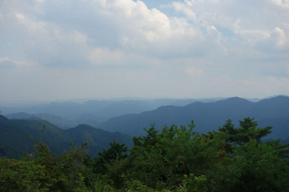 Ausblick vom Berg Hinode