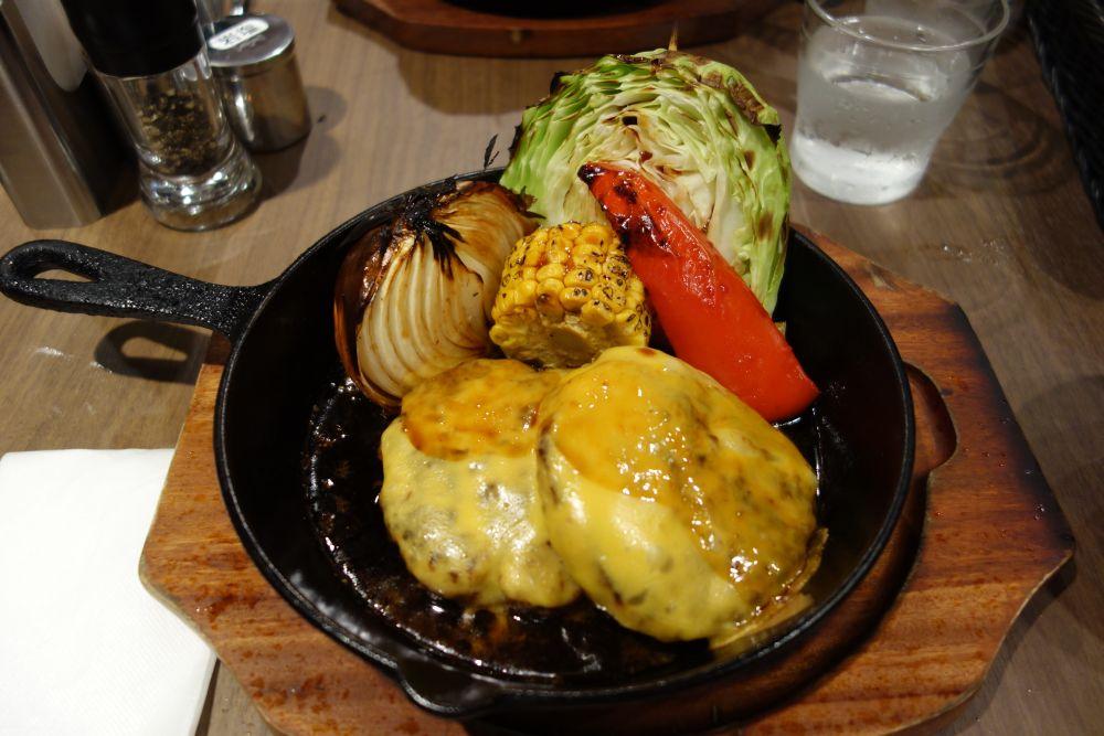 Burger auf japanische Art