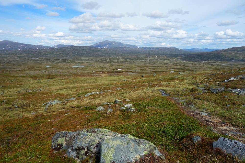 Mehrere Kilometer freie Sicht