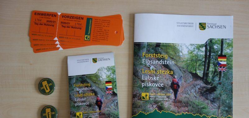 Forststeig Elbsandstein Trekking-Vorbereitungen