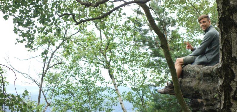 Tag 1: Schöna – Zschirnstein Biwak