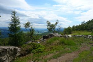 Auf dem Weg vom Schneeberg nach Ostrov