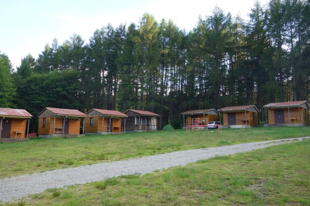 Camping Platz in Ostrov