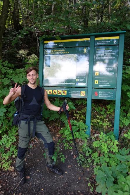 Ziel des Forststeigs Elbsandstein
