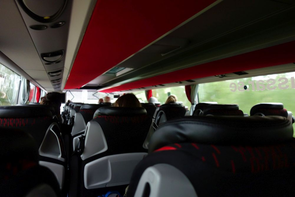 Busfahrt nach Funäsdalen